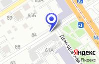 Схема проезда до компании АВТОСТАНЦИЯ СЕЛА КАЗАНСКОЕ в Казанском