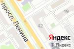 Схема проезда до компании КБ Восточный, ПАО в Барнауле