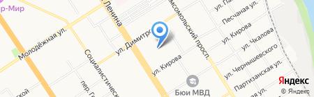 Контрольно-Диагностический центр на карте Барнаула