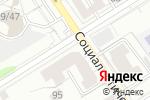 Схема проезда до компании Юникредит банк в Барнауле
