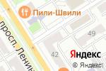 Схема проезда до компании Женская консультация №2 в Барнауле