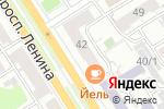 Схема проезда до компании Тип-Топ в Барнауле