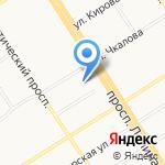 Юрист и Бухгалтер на карте Барнаула
