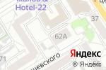 Схема проезда до компании БТСК в Барнауле