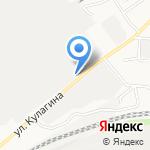 Сотня-Техно на карте Барнаула