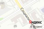 Схема проезда до компании Камелия в Барнауле