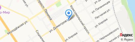 ПОРА ПОКУШАТЬ на карте Барнаула