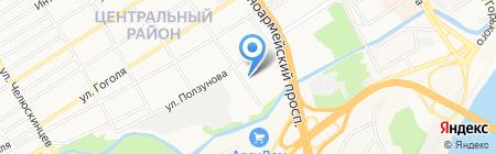 Фармкомплект-Барнаул на карте Барнаула