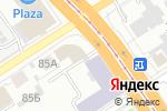 Схема проезда до компании Алтай Формат в Барнауле