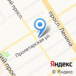 Cafe de Lafe на карте Барнаула