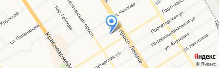 Территориальный орган Федеральной службы государственной статистики по Алтайскому краю на карте Барнаула