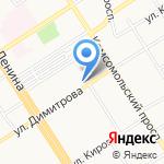 Bistro на карте Барнаула
