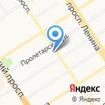 Росэнерго на карте Барнаула