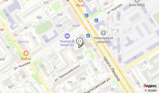 Арафат. Схема проезда в Барнауле