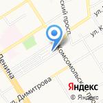Алтайский краевой Союз общественных организаций ветеранов Чечни на карте Барнаула