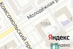 Схема проезда до компании Комитет по делам молодежи, культуре, физической культуре и спорту Администрации Октябрьского района в Барнауле