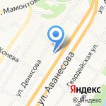 Дом ребенка специализированный на карте Барнаула