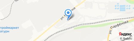 Квадрат на карте Барнаула