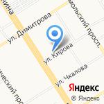 Часовня Святой Великомученицы Татьяны на карте Барнаула