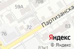 Схема проезда до компании Узбекская чайхана в Барнауле