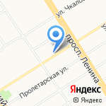 Узбекская чайхана на карте Барнаула
