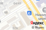 Схема проезда до компании АйДи Инжиринг в Барнауле