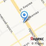 Банк горящих туров на карте Барнаула