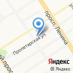 Компания ПРОКС на карте Барнаула