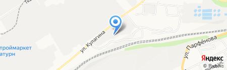 КомТрансСервис на карте Барнаула