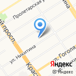 Veranda Delux на карте Барнаула