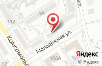 Схема проезда до компании Банзай в Барнауле