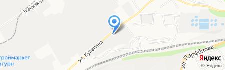 Арафат на карте Барнаула