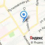 Продуктовая лавка на карте Барнаула