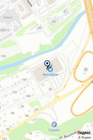 ФатО на карте Барнаула