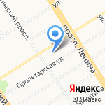 НЛП-Центр на карте Барнаула