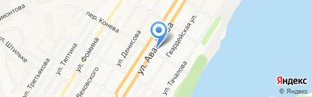 Авто-Вираж на карте Барнаула