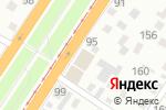 Схема проезда до компании Авто-Вираж в Барнауле