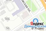 Схема проезда до компании Yoga & Pilates DOM в Барнауле