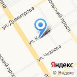 Гэллэри на карте Барнаула
