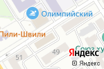 Схема проезда до компании Гэллэри в Барнауле