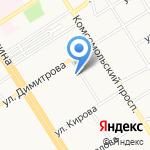 Ватэм на карте Барнаула