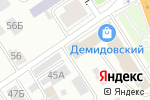 Схема проезда до компании Юг Сибири в Барнауле