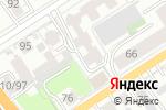 Схема проезда до компании Каприз в Барнауле