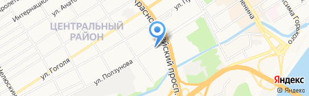 ТЛК НОВОТРАНС на карте Барнаула