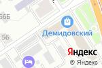 Схема проезда до компании Ренессанс в Барнауле