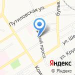 Адвокатский кабинет Суховольского С.И. на карте Барнаула