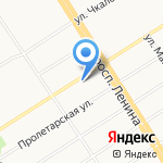 Амадео на карте Барнаула