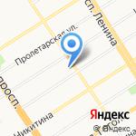 Экстал на карте Барнаула