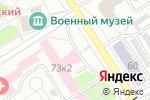 Схема проезда до компании Сольвейг МТ в Барнауле