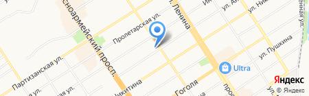Джинс-Клуб на карте Барнаула